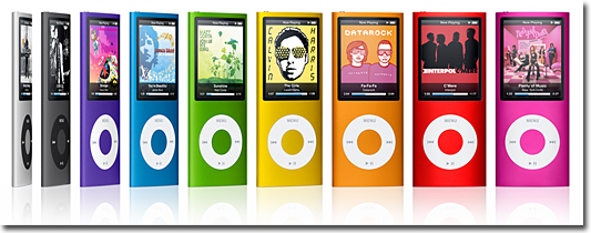 nouvel ipod nano