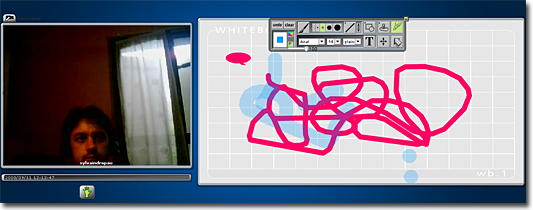 webcam room chat dessin