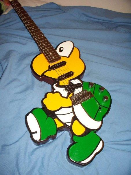 guitare geek