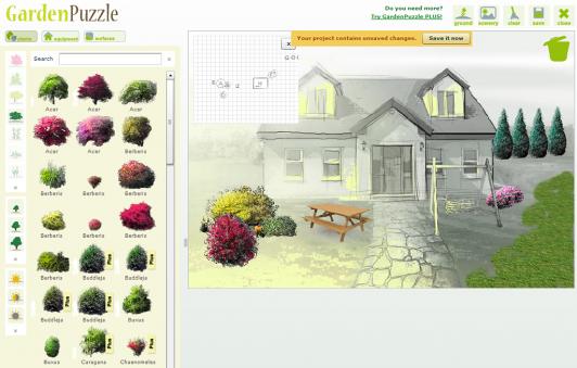 Gardenpuzzle redessiner votre jardin en ligne slydnet for Dessiner son jardin gratuit en ligne