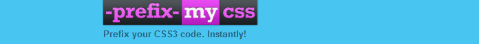 prefixmycss