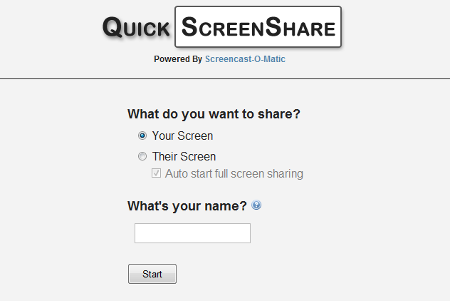 quickscreenshare 2