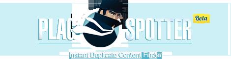 PlagSpotter - Online Duplicate Content Checker