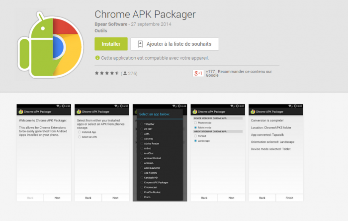 Chrome-APK-Packager